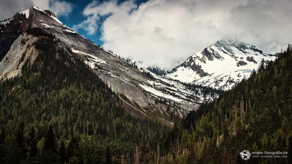 Bergwelt am Rogers Pass