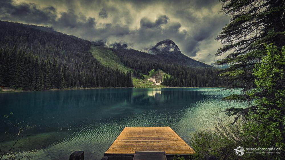 Steg am Emerald Lake
