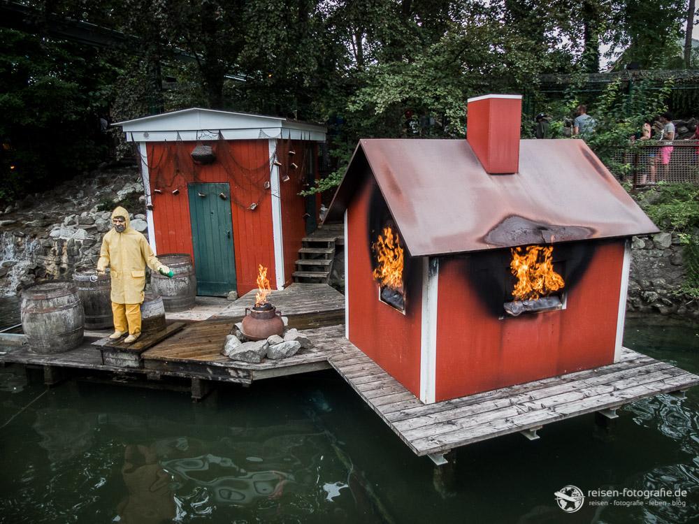 Tschuldigung, Ihr Haus brennt.