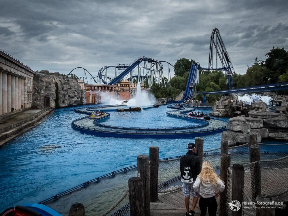 Wasserachterbahn Poseidon