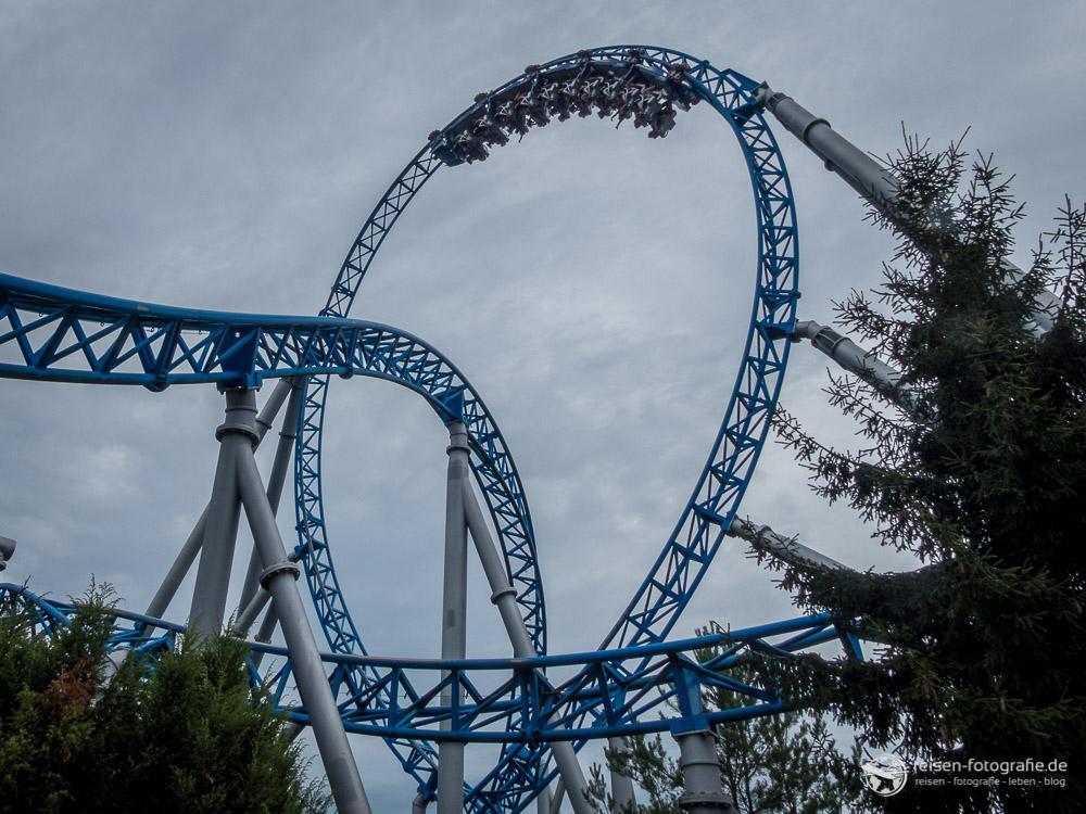 Looping des Bluefire Megacoaster