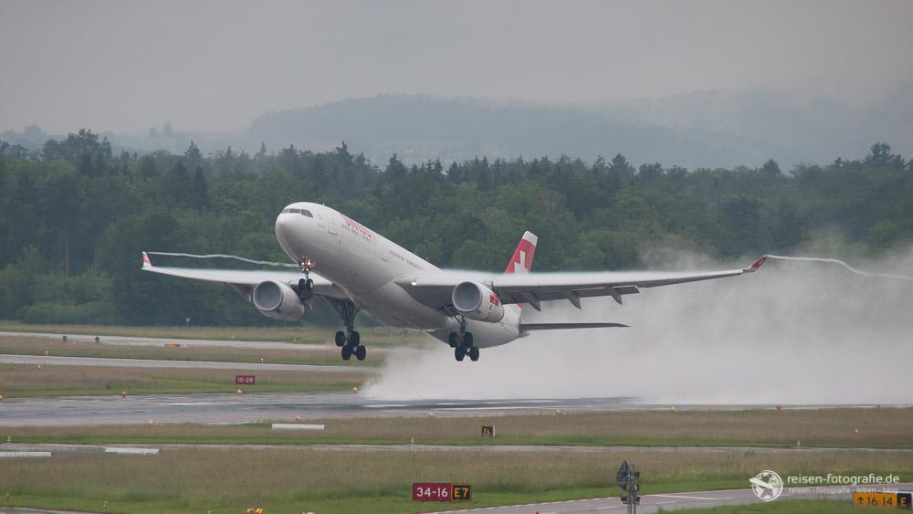 Swiss im Regen - Roh