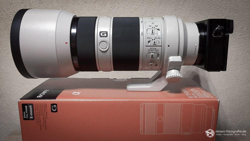 Sony SEL 70200 Mit Sony Alpha 6000
