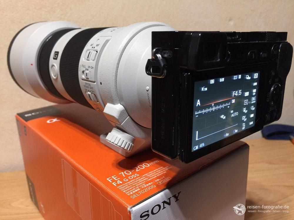 Sony SEL 70200 F4 G OSS