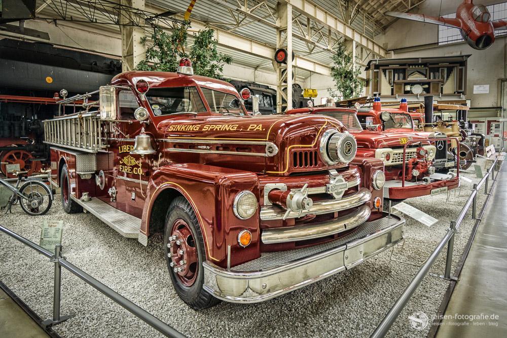 Amerikanische Feuerwehrautos