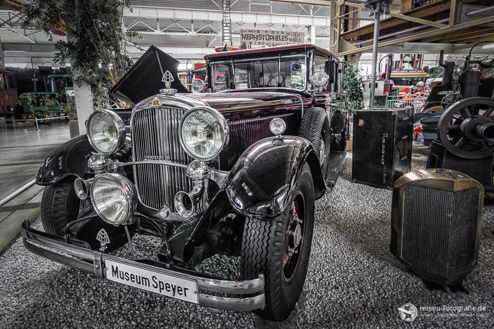 Ein Paradies für Liebhaber alter Autos