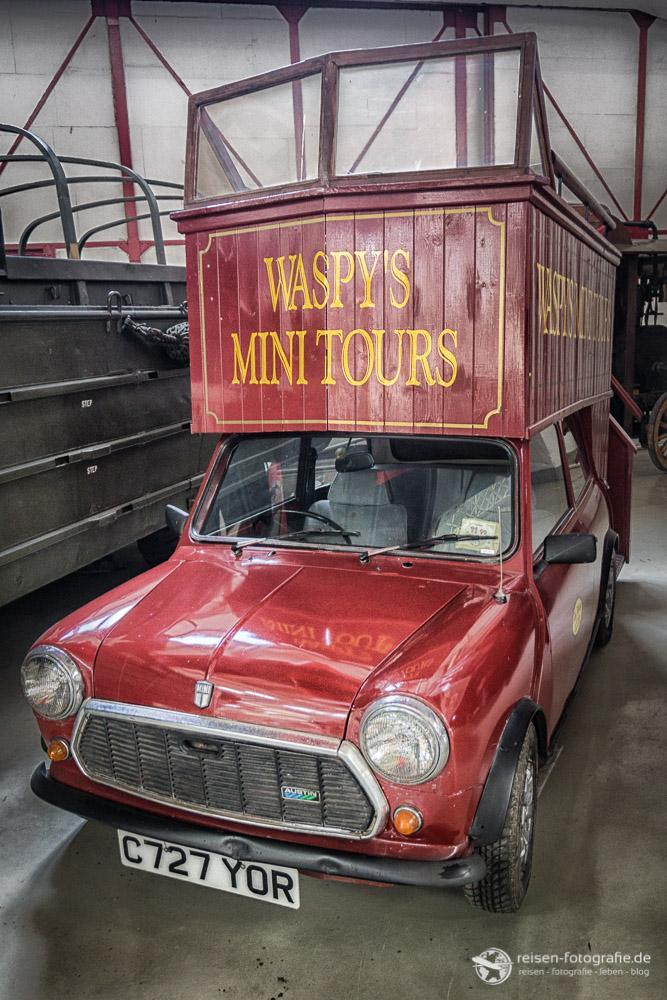 Doppeldecker Mini - der ist wirklich so durch London gefahren.