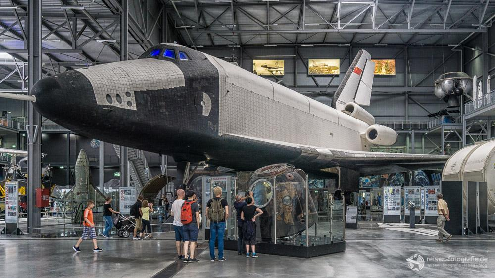 Butan in der Raumfahrtausstellung