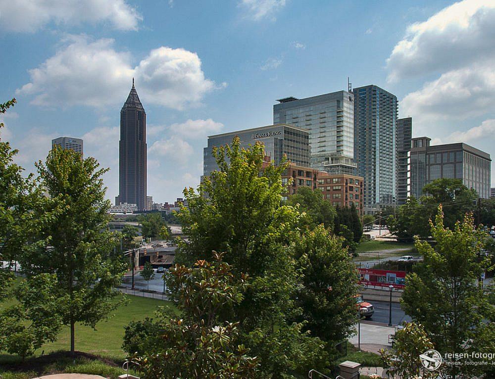 Atlanta, Südstaaten, Nascar – wir kommen