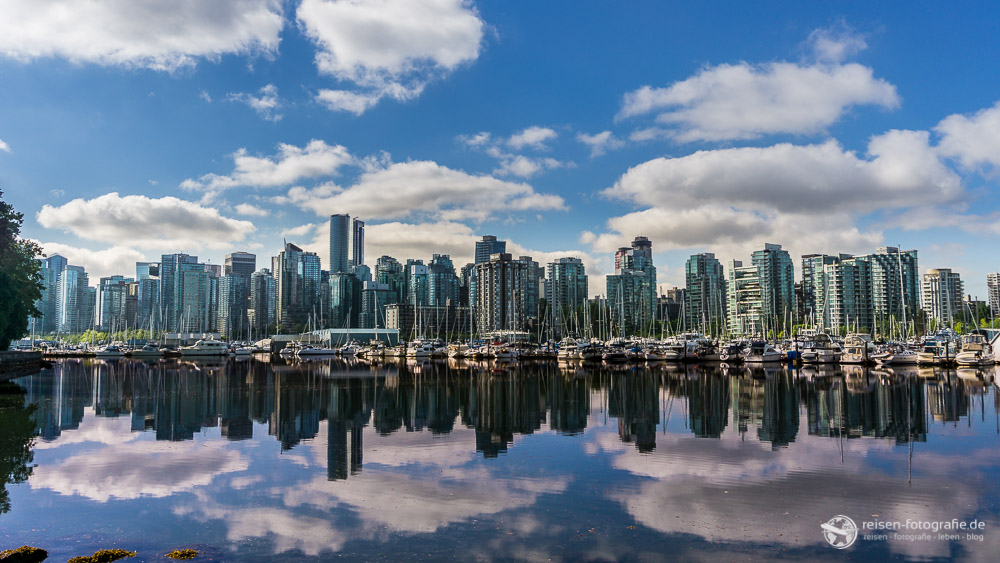Wolken über Vancouver