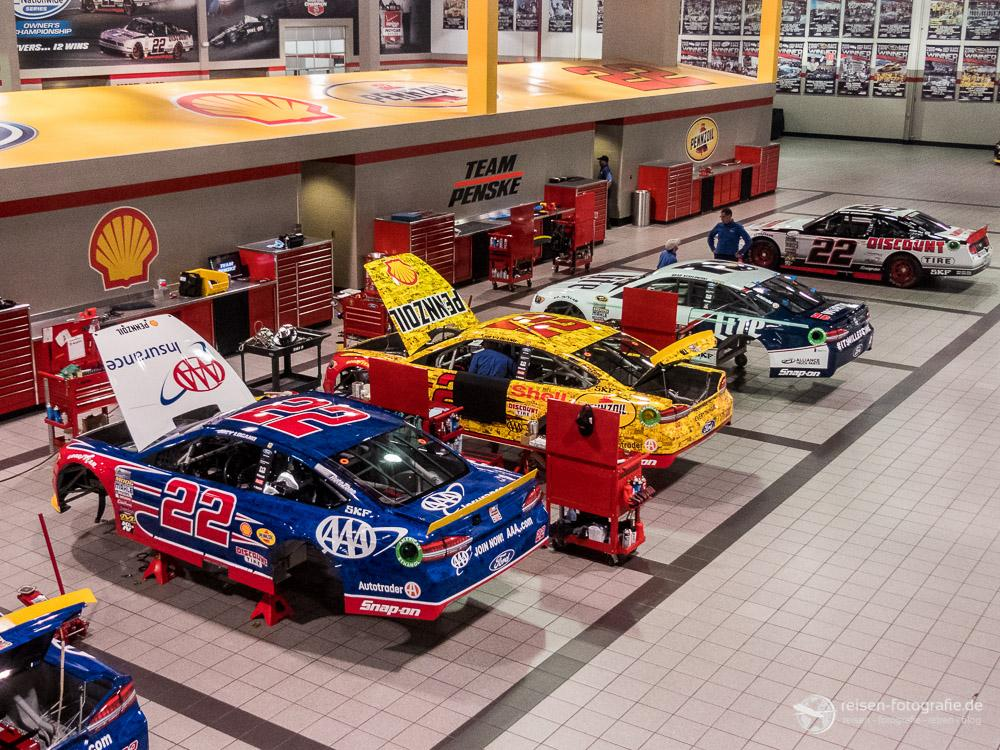 Zu Besuch bei Penske Racing