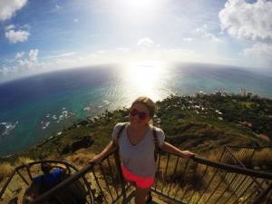 Sophia auf Hawaii