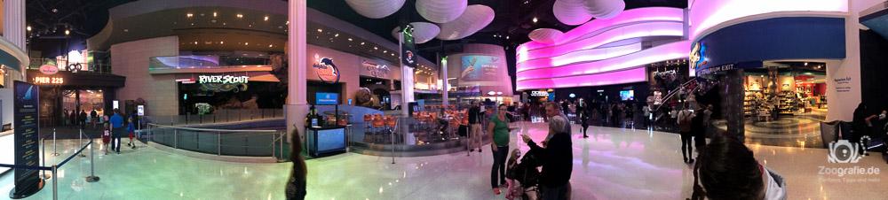 Gigantischer Foyer Bereich