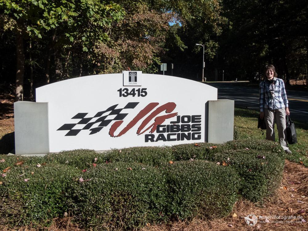 Besuch bei Joe Gibbs Racing