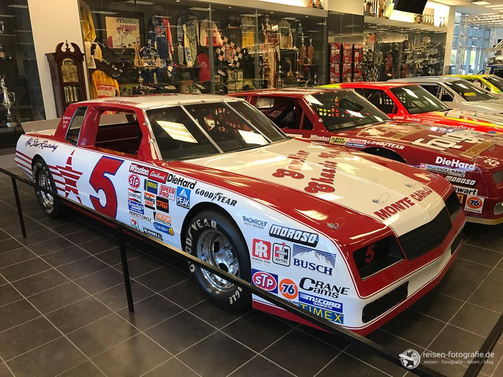 Die Geschichte von Hendrick Motorsports im Museum