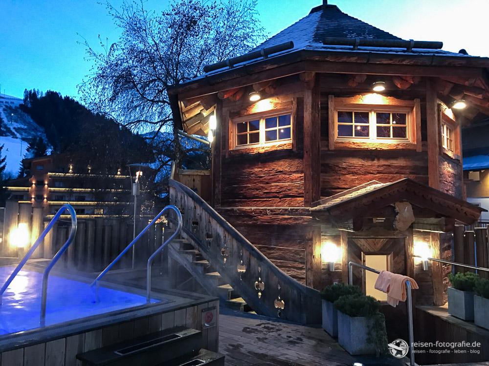 Wellnessbereich im Hotel Alpine Palace