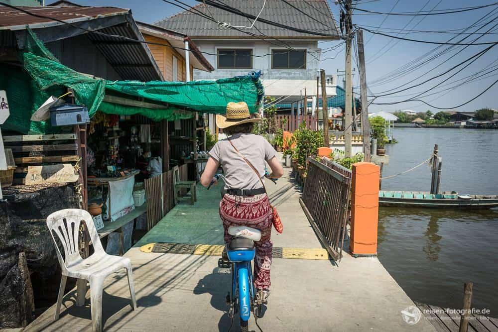 Mit dem Fahrrad auf Ko Kret