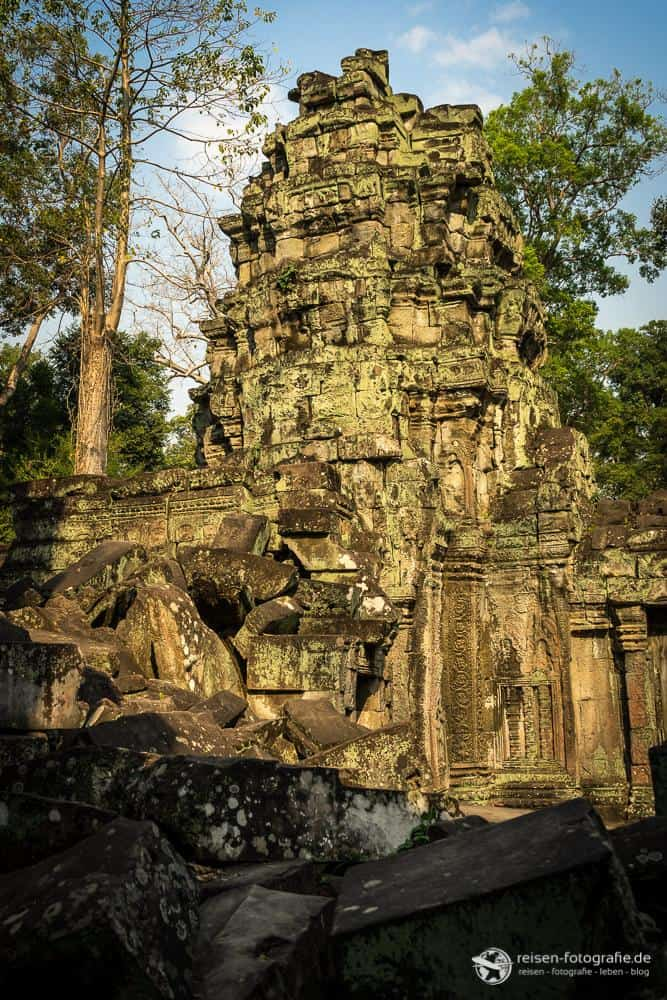 Ruine in Angkor Wat