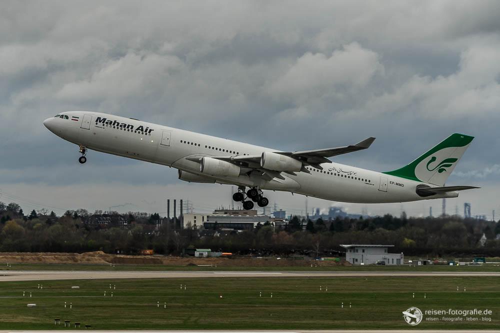 Mahan Air Airbus A340-300