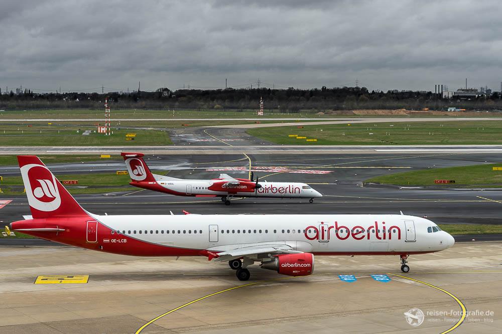 Air Berlin A321 und Dash 8
