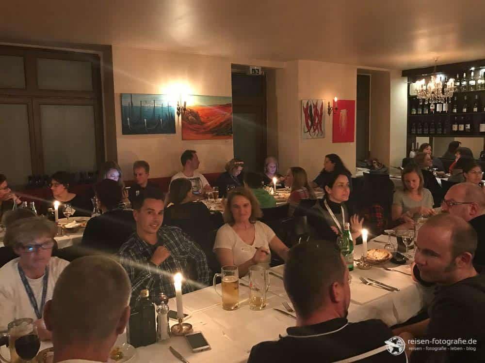 Blogger Abendessen