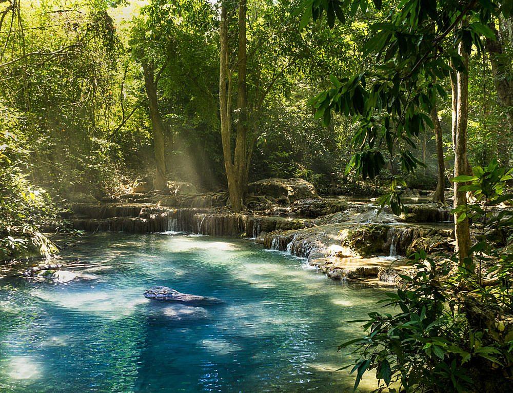 Ein Tag an den Wasserfällen im Erewan National Park