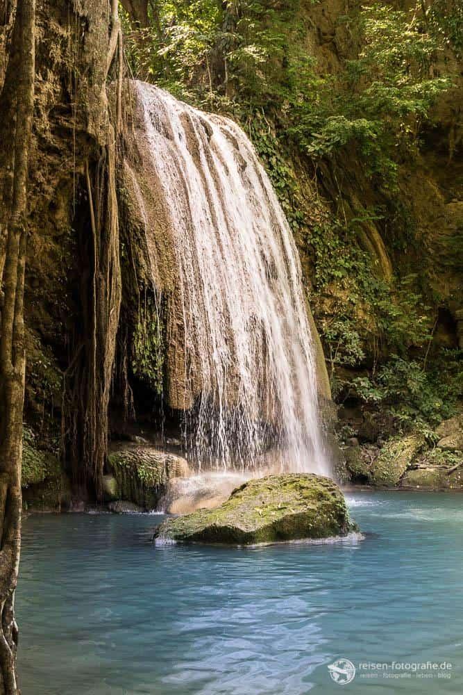 Wasserfall von der 4. zur 3. Stufe