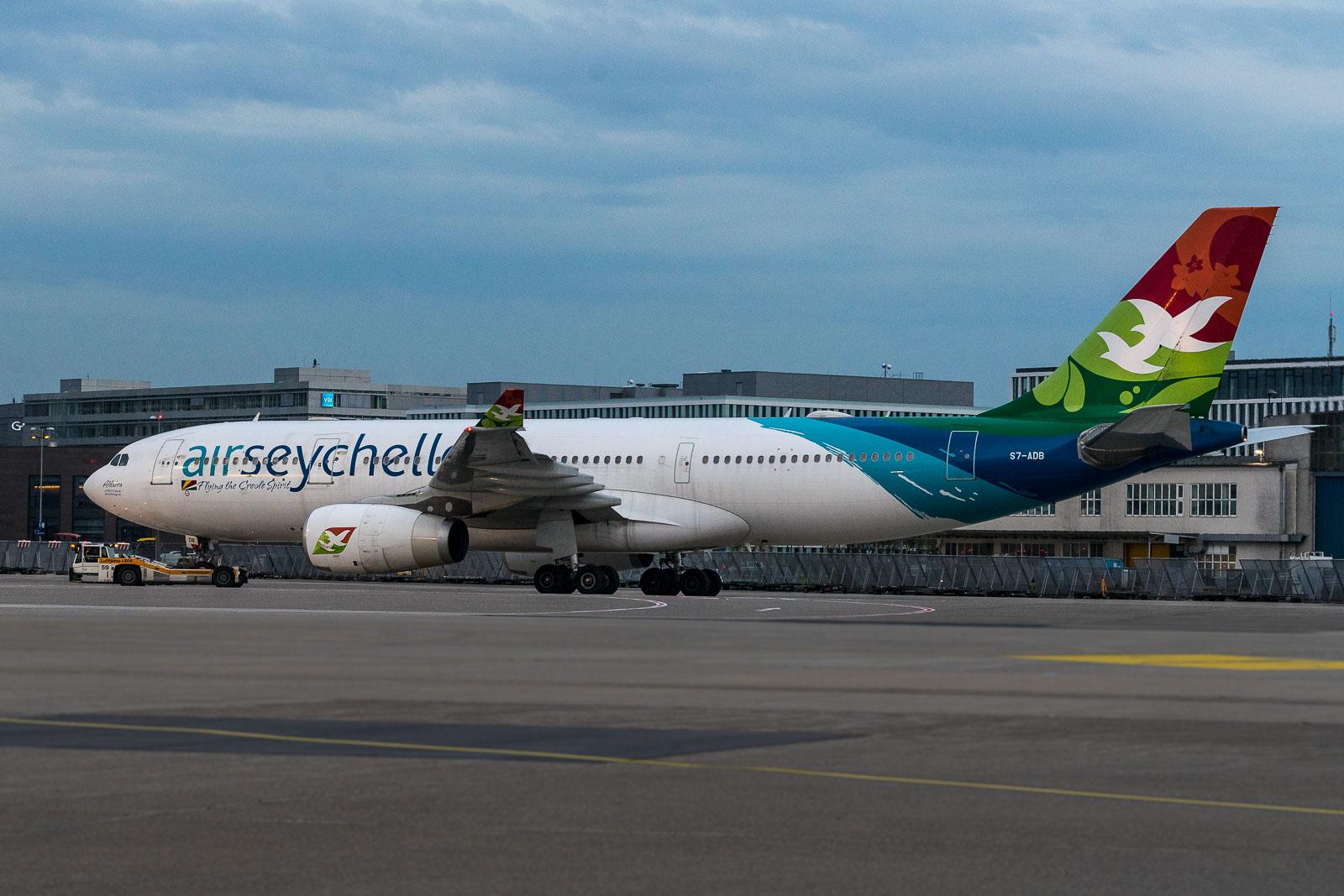 Air Seychelles in Düsseldorf