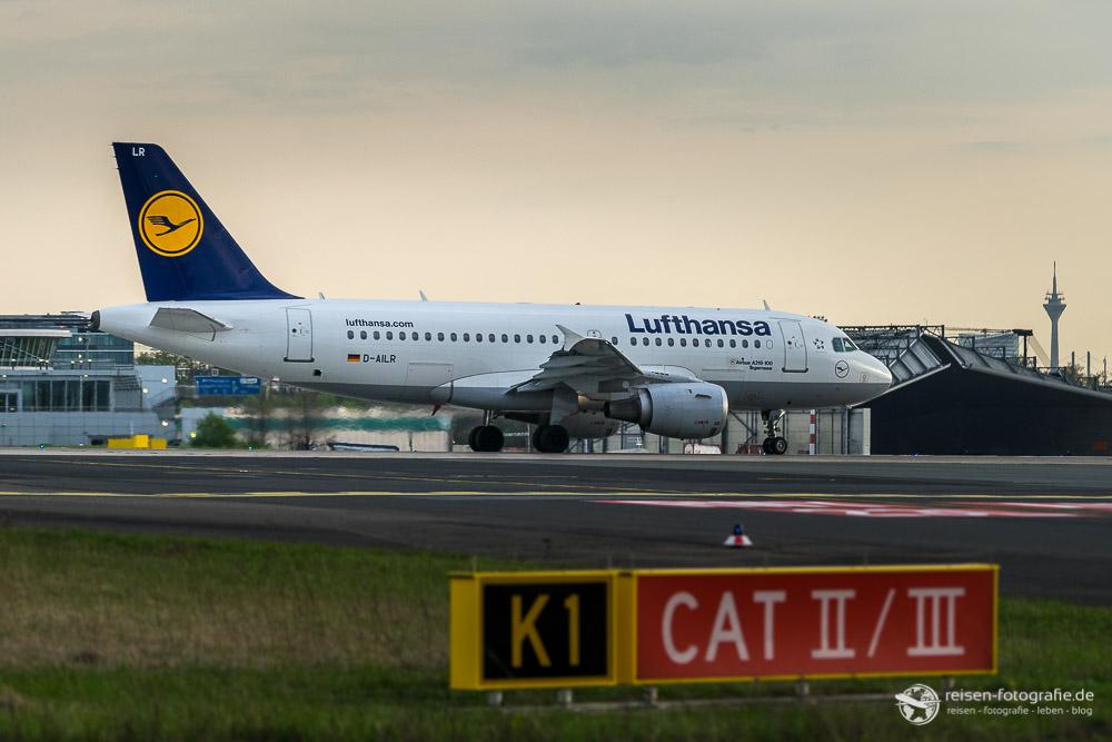 Lufthansa am Line-Up der 23L