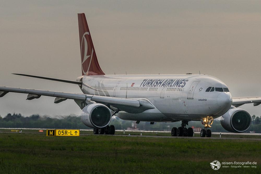 Turkish A300 auf dem Taxiway M
