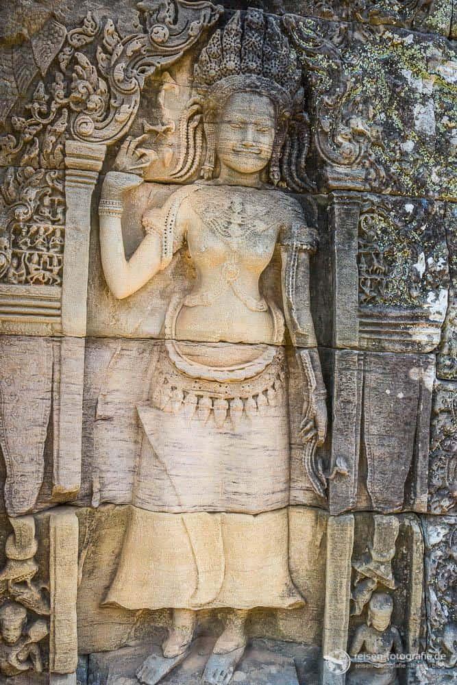 Details Bayon Tempel