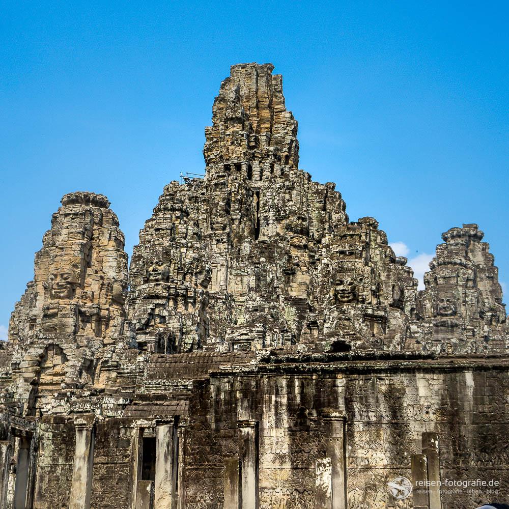 Oberster Turm des Bayon Tempel