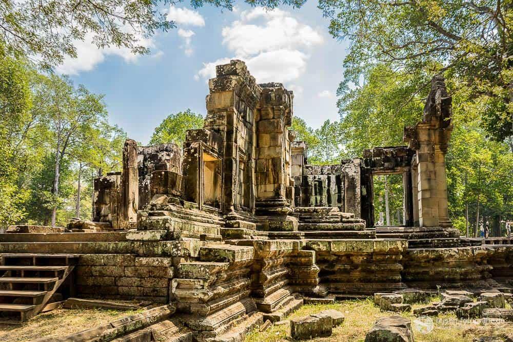 Ruine auf dem Weg zum Phimeanakas Tempel