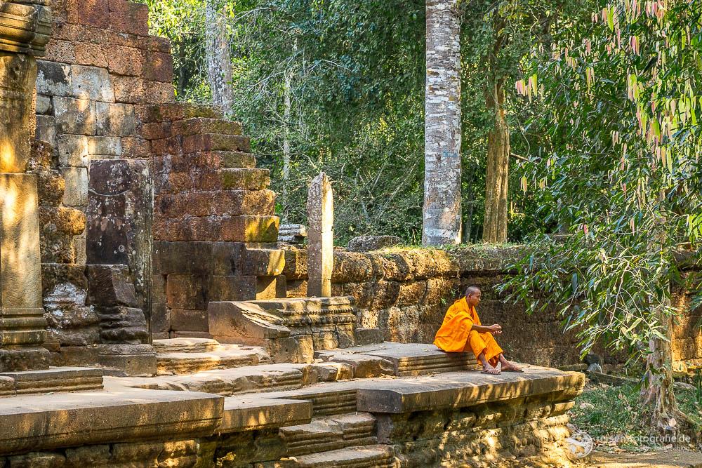 Mönch am Ta Prohm