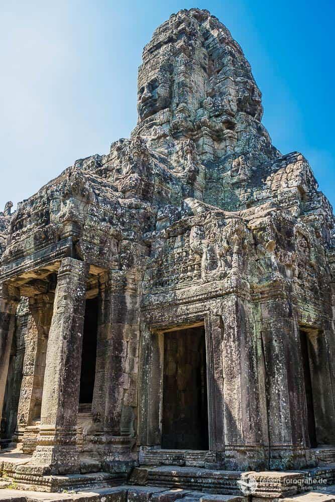 Zentraler Turm des Bayon Tempel