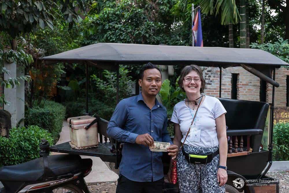 Boro - unser Fahrer in zwei Tagen Angkor