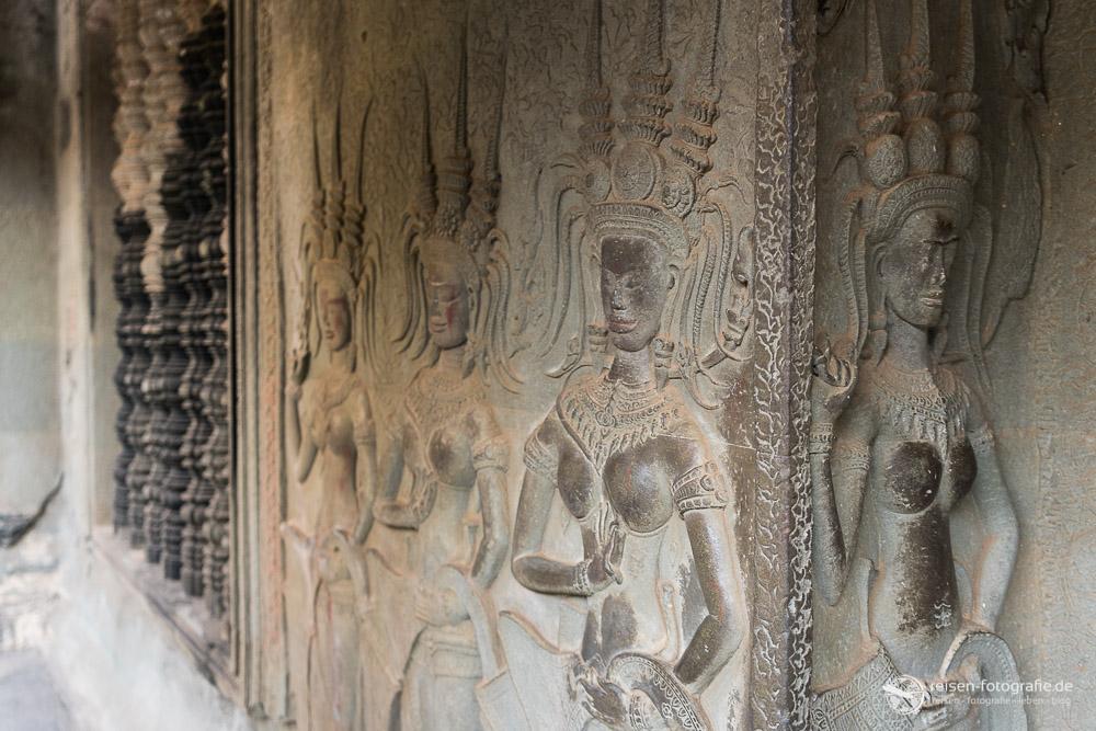 Relief im Angkor Wat