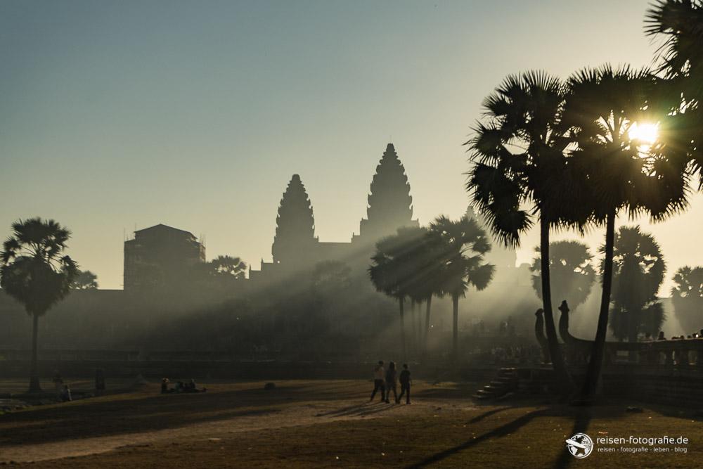 Lichtspiele am Angkor Wat