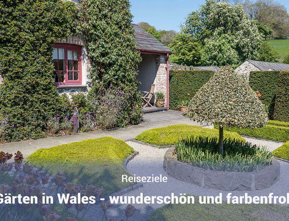 Gärten in Wales (Werbung)
