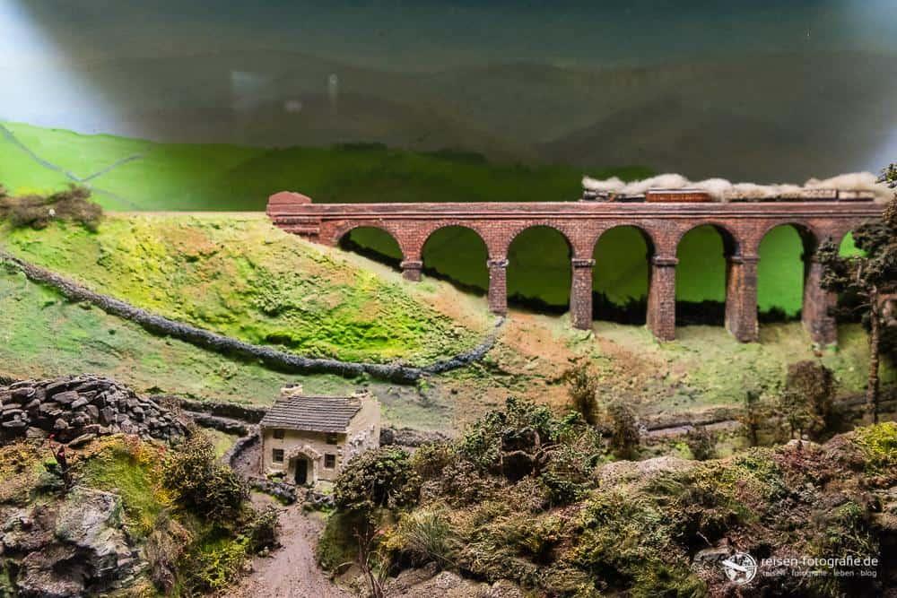 Eisenbahn-Diorama