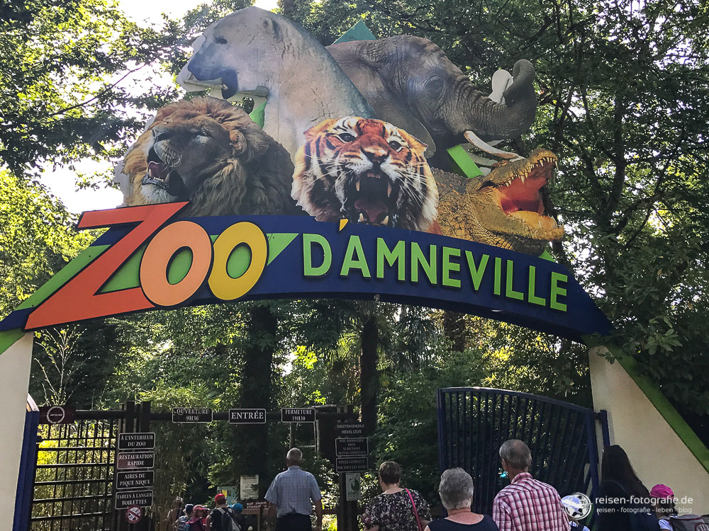 Zoo Amneville Eingang