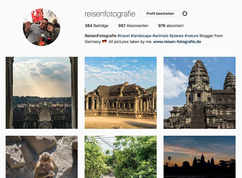 Bunte Instagram Timeline - so wird das nichts