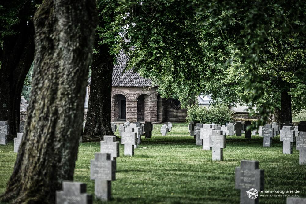 Bastogne Friedhof