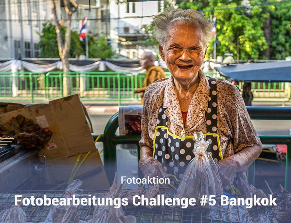Fotobearbeitungs Challenge #5 – Bangkok Markt