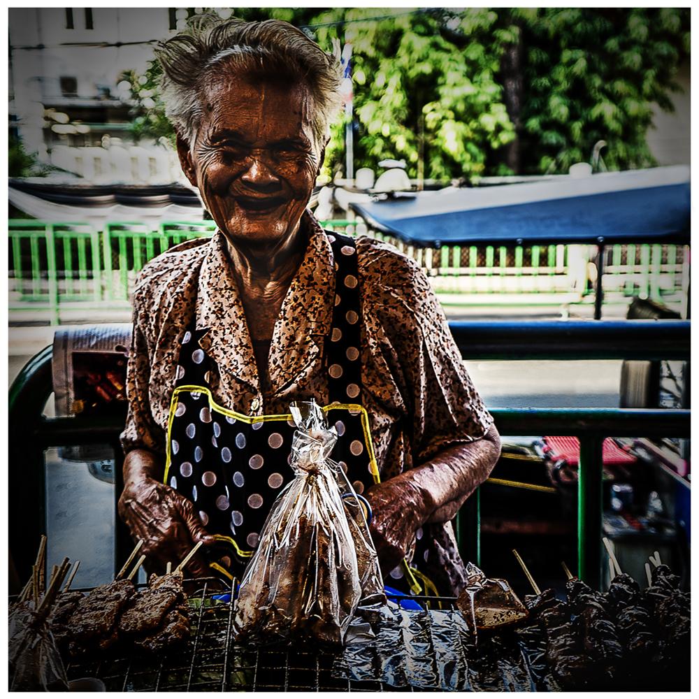 Bangkok Markt von Dirk E.