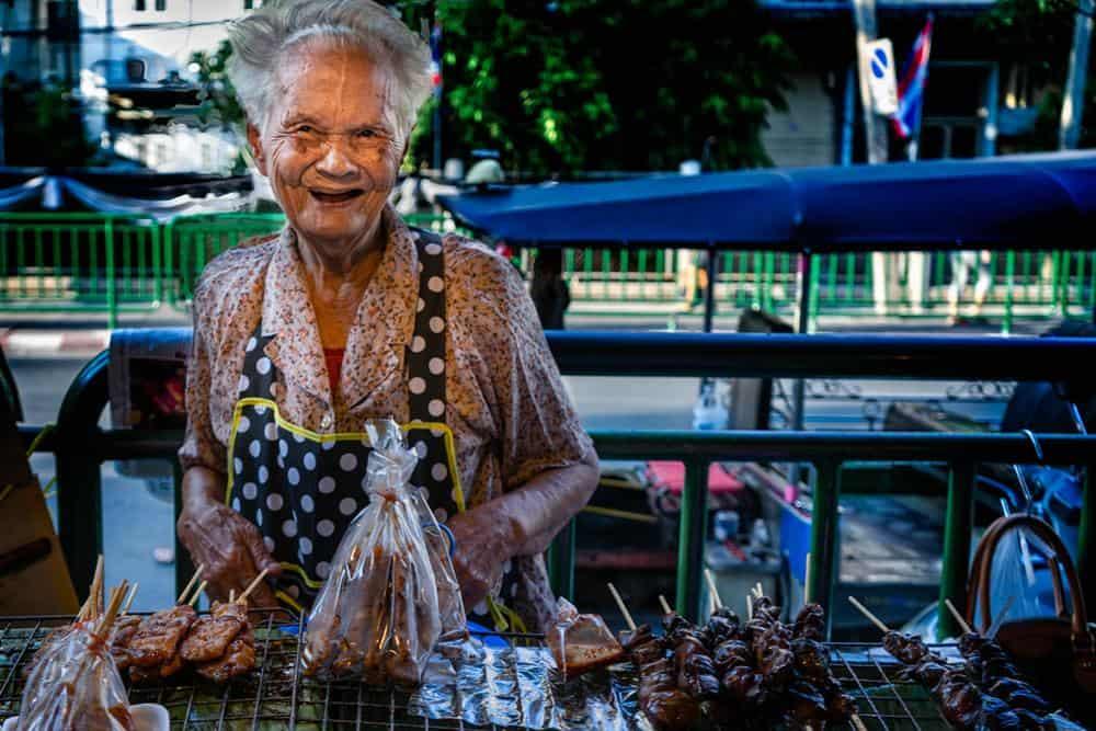Bangkok Markt von Marc A.