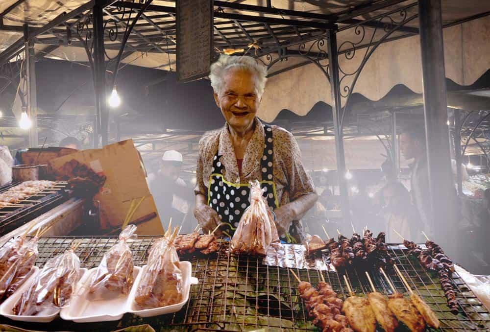 Bangkok Markt von Pong