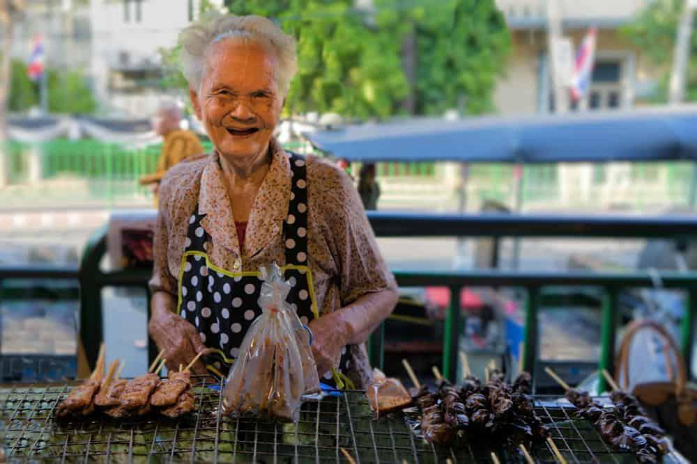 Bangkok Markt von Florian
