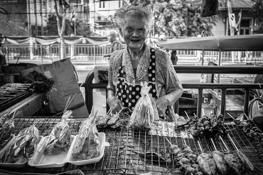 Bangkok Markt von Andre