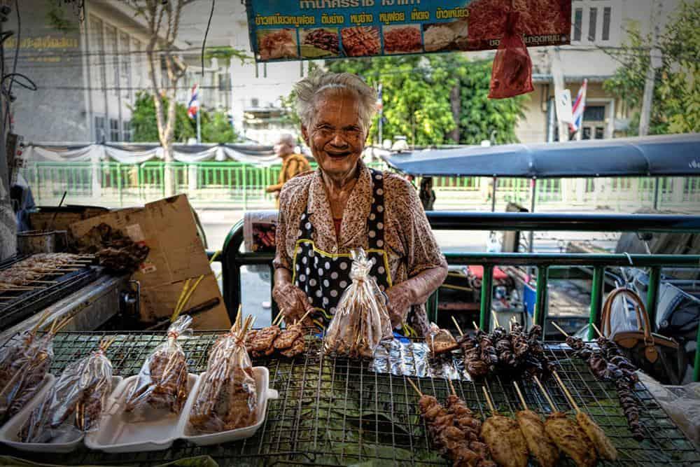 Bangkok Markt von Michael